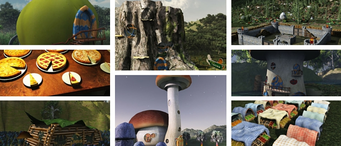 Gnome Village for Poser 3D & DAZ Studio 3D