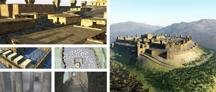 Lachish 3D Bible Model