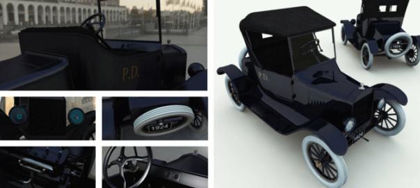 Model T Runabout 3D Model
