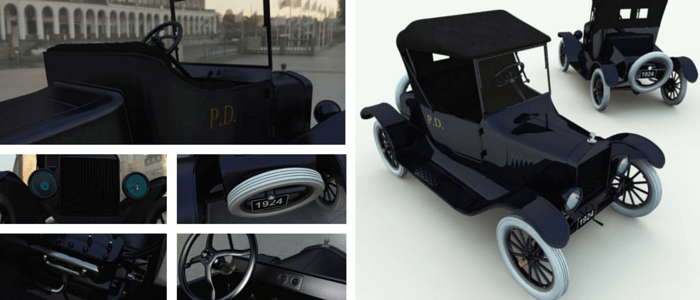 Model T Runabout 3D Model
