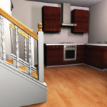 Weekend Home 3D Model from Meshbox Design