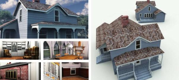 Weekend Home 3D Model
