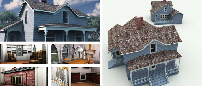 Weekend Home 3D Model