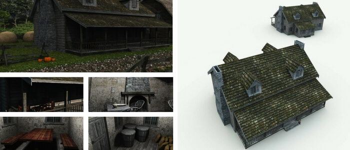 Sleepy Hollow Inn 3D Building Model