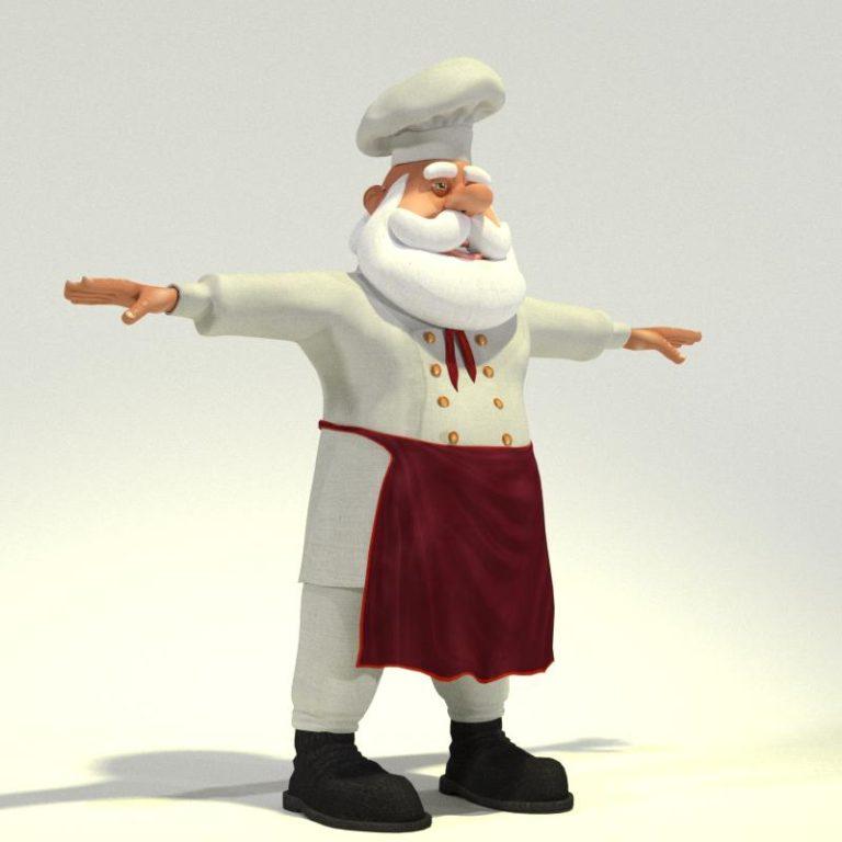 Chef Santa 02