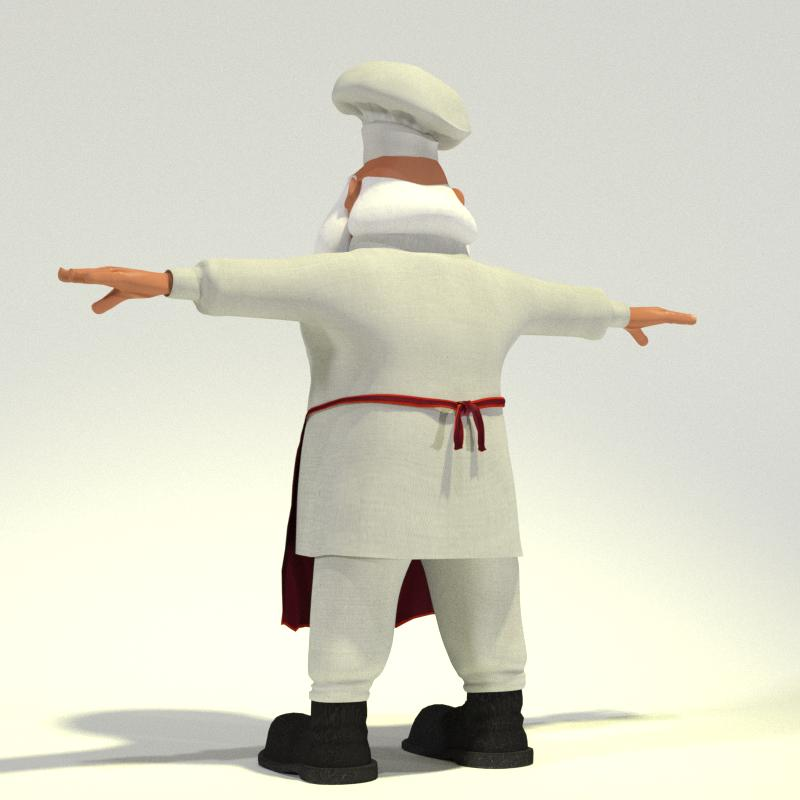 Chef Santa 03