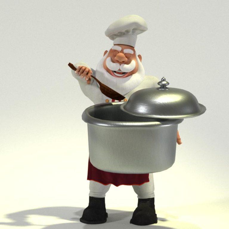 Chef Santa 06