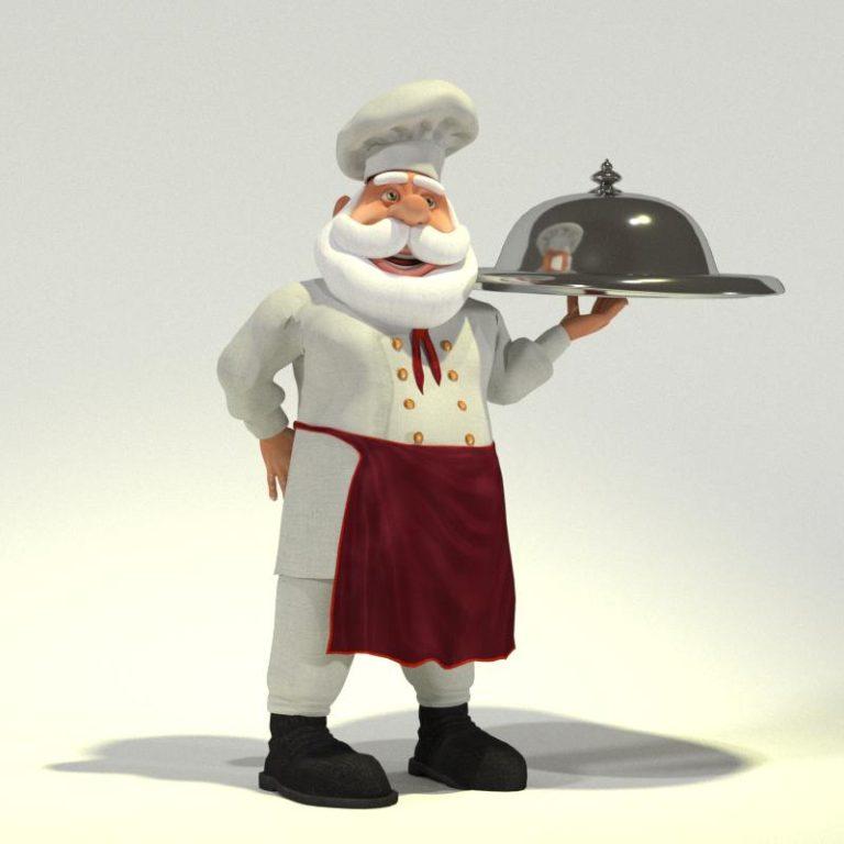 Chef Santa 08