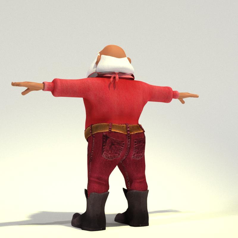 Wild West Toon Santa for Poser
