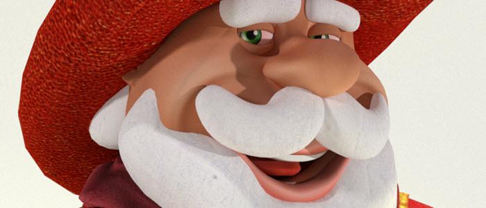 Wild West Santa for Poser