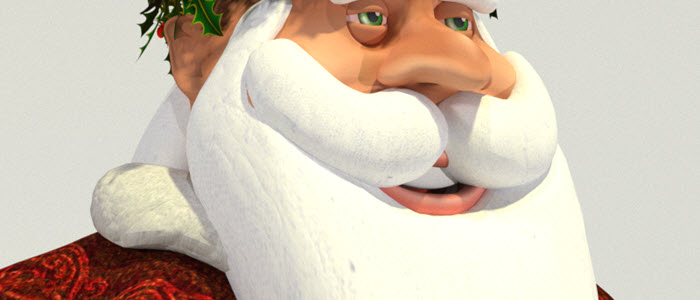 Father Christmas for Poser & DAZ Studio
