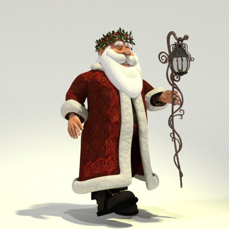 Father Christmas for Poser 01
