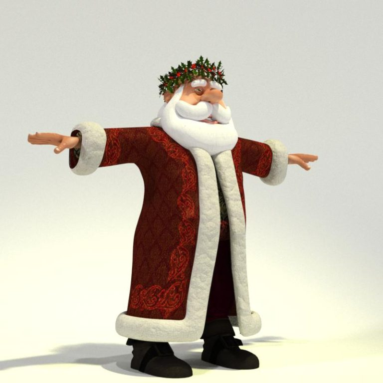Father Christmas for Poser 02