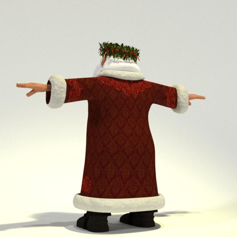 Father Christmas for Poser 03