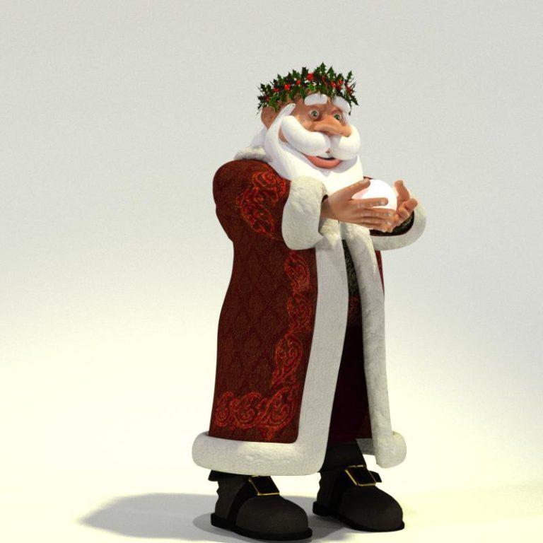 Father Christmas for Poser 05